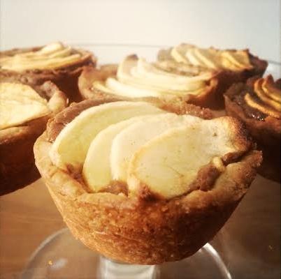 Clairesquares Caramel Apple Tartlets